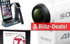 Blitzangebote:<b> Sony-4K-Kamera, interne 1-TB-SSD, Apple-Watch-Dock u.v.m. heute günstiger</b></b>
