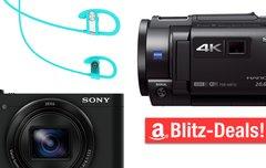 Blitzangebote:<b> Camcorder und Zoomkamera von Sony, Bluetooth-Kopfhörer u.v.m. heute günstiger</b></b>