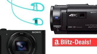 Blitzangebote: Camcorder und Zoomkamera von Sony, Bluetooth-Kopfhörer u.v.m. heute günstiger