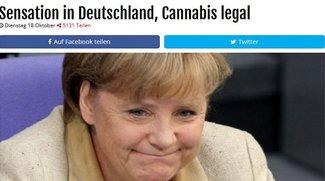 Cannabis wird legal: Legalisierung für alle ab sofort - Stimmt das?