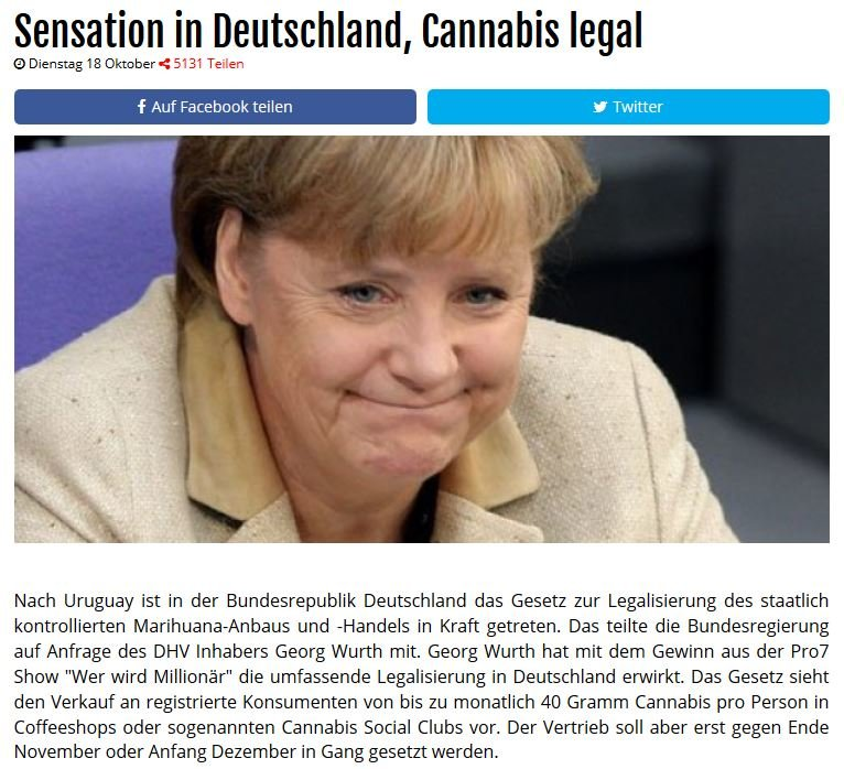 Cannabis legal Facebook
