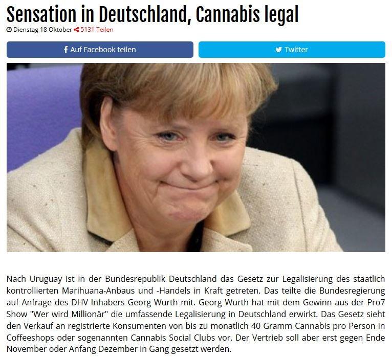 Cannabis legal Facebook