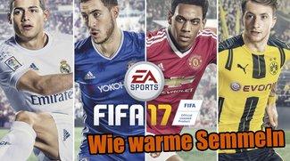 FIFA 17: Fußballsimulation mit neuem deutschen Verkaufsrekord