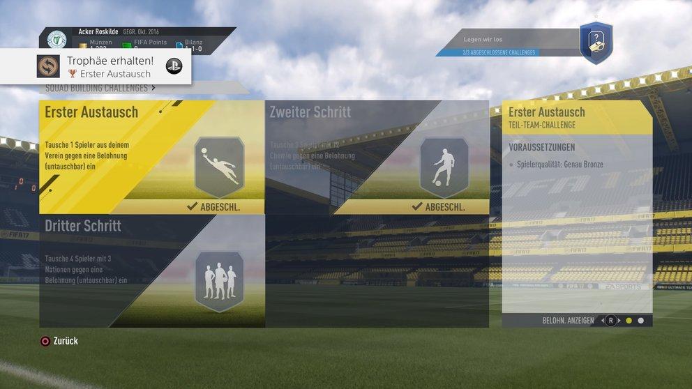 FIFA 17 Transfermarkt