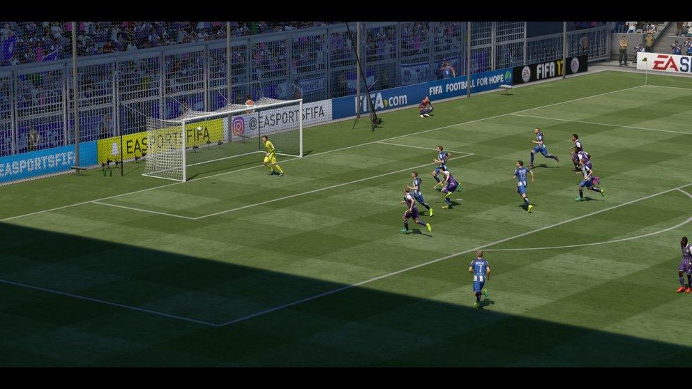 FIFA 17 Karriere: Partie 5:0 BSC : TOU, 1.HZ