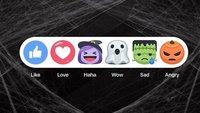 Facebook-Emojis: Neue Grusel-Smileys zu Halloween