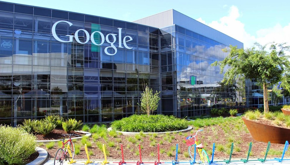 Die Zentrale von Google Inc. in Mountain View, Kalifornien. (Quelle: Google)