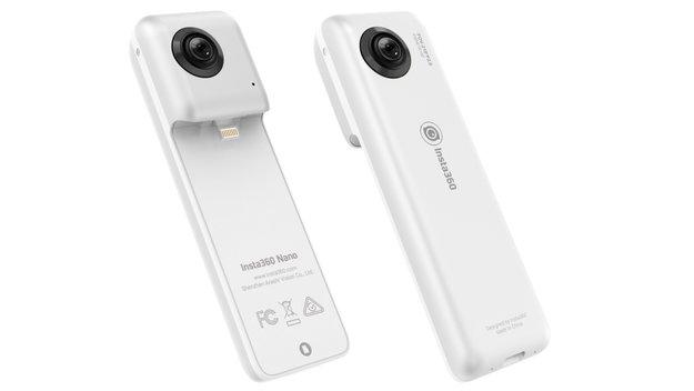 Insta360 nano: 360-Grad-Kamera für Apples iPhone
