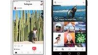 Instagram erlaubt erstmals Uploads über Mobil-Website (Update)