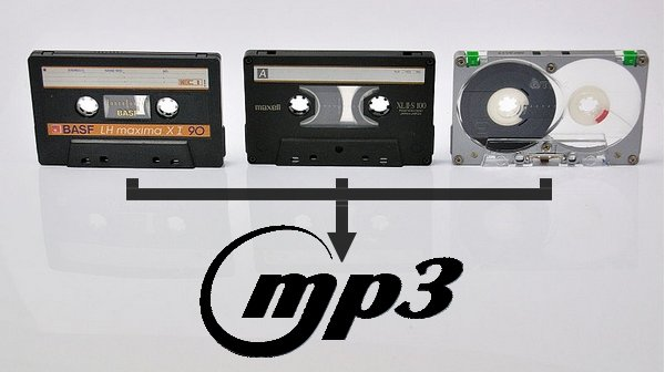 Kassetten digitalisieren Titelbild