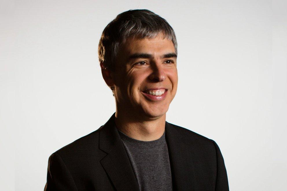 Google Erfinder Larry Page (Quelle: Google)