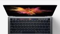 Touch Bar-Funktionen des MacBook Pro: Das kann das Touchdisplay