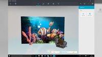 Microsoft Paint: So sieht die Windows-10-App mit 3D-Modus aus