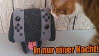 Nintendo Switch: So schön sehen die Joy-Cons als Plüsch-Hündchen aus