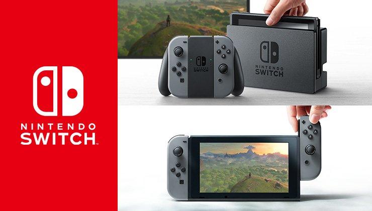 Nintendo Switch offiziell angekündigt: So sieht die neue Konsole von Nintendo aus!