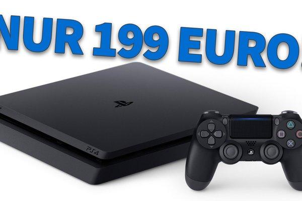 Top-Angebot:<b> Sichere Dir jetzt die PlayStation 4 Slim für nur 199 Euro</b></b>