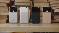 Pixel (XL): Renderbilder setzen Google-Smartphones gekonnt in Szene