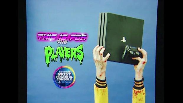 PlayStation 4 Pro: Sieh Dir den super trashigen 80er-Trailer an