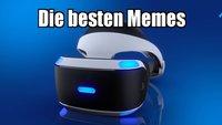 PlayStation VR: Die besten Memes zur Virtual-Reality-Brille von Sony