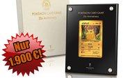 Zum 20-jährigen Jubiläum: Diese Pikachu-Karte kostet über 1.900 Euro