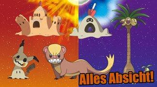 Pokémon Sonne & Mond: Darum sehen die neuen Pokémon so komisch aus