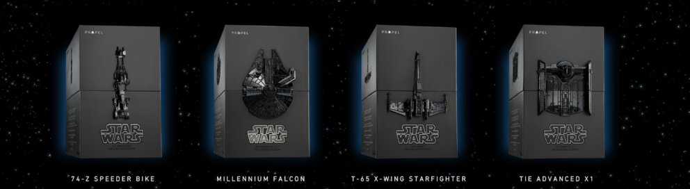 Propel Star Wars Battle Drones Collection