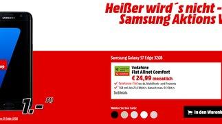 Samsung-Aktions-Woche bei Media Markt: Galaxy S7 (edge) + Playstation 4 Slim mit effektivem Gewinn!