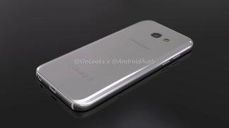 Samsung Galaxy A5 (2017): Schickes S7-Design durch Rendervideo enthüllt