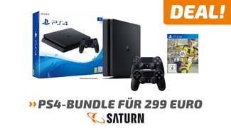 Knaller! Playstation 4 Slim 1 TB + Fifa 17 + 2. Controller für 299 Euro bei Saturn</b>
