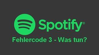 Spotify Fehlercode 3: Was tun, wenn der Login fehlschlägt?
