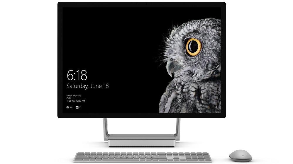 Endlich ein iMac für Windows-User: Microsoft stellt Surface Studio vor