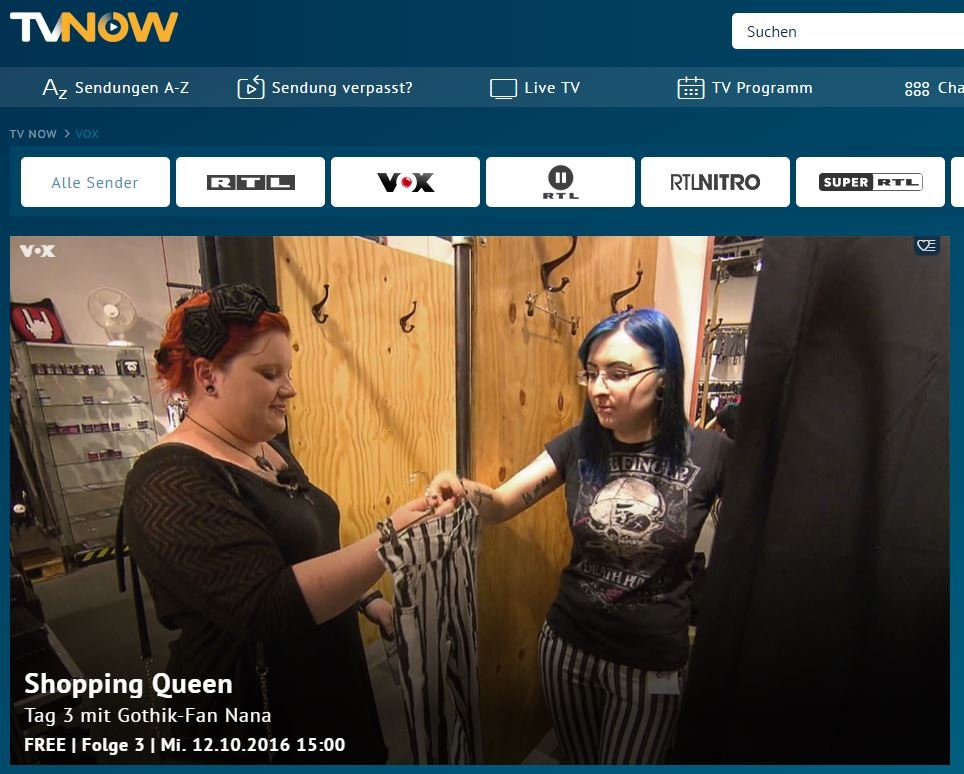 Vox Sendung Verpasst Outlander Revenge Oder Shopping Queen Spater Sehen