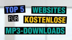 Top 5 Websites für legale Mp3-Downloa...