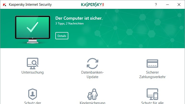 Top-Download der Woche 42/2016: Kaspersky Internet Security 2017