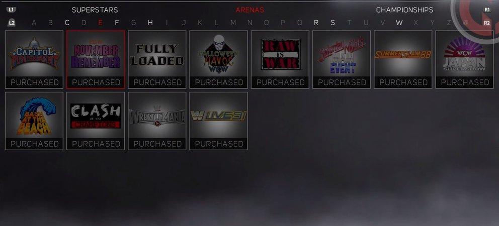 WWE 2K17 Arena