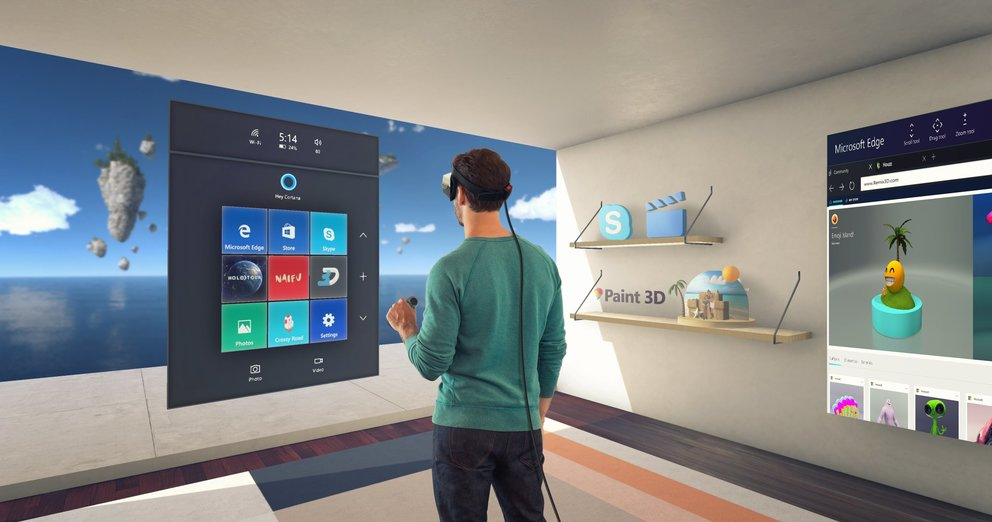 Windows 10 Creators Update HoloLens