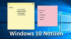 Windows 10: Notizen für Desktop – so öffnet ihr die App