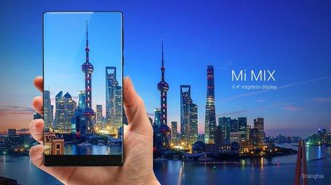 Xiaomi Mi Mix: Das erste Smartphone mit einem wirklich randlosen Display