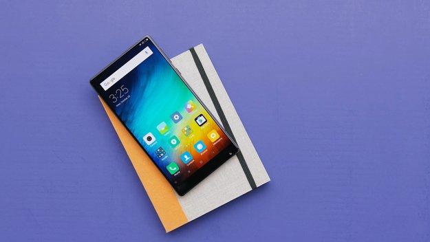 Xiaomi Mi Mix: In natura doch nicht ganz so randlos