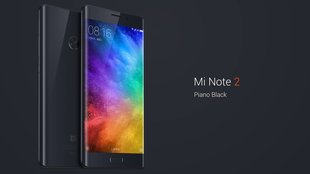 Xiaomi Mi Note 2 vorgestellt: Dual-Curved-Display, High-End-Specs und LTE Band 20 – ab 379 Euro