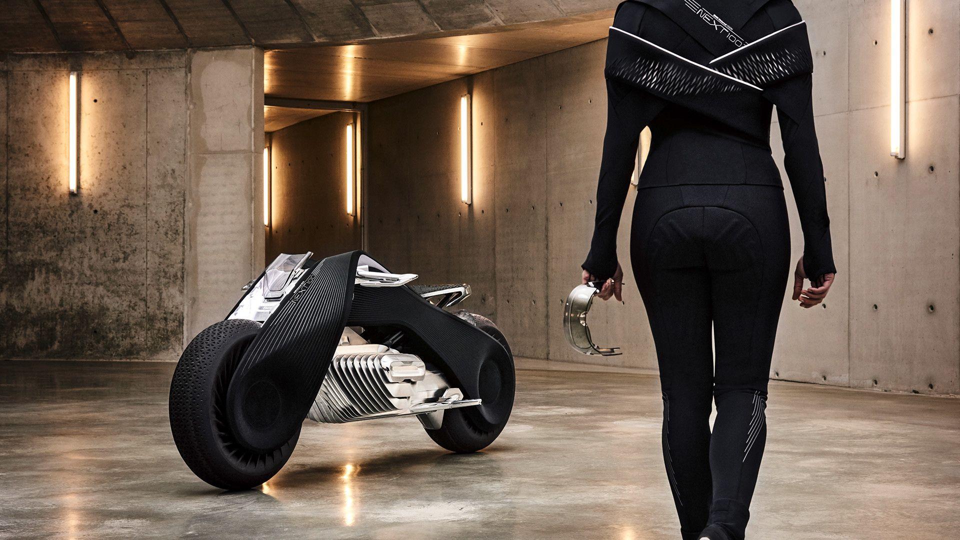 Bmw Motorrad Weihnachtsgrüße.Kann Nicht Umkippen Bmw Zeigt Motorrad Der Zukunft