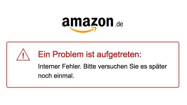 Probleme bei Amazon: Login und Bestellungen derzeit nicht möglich (Update)