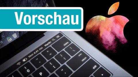 Apple Event am 27. Oktober: Vorhersagen zum MacBook Pro