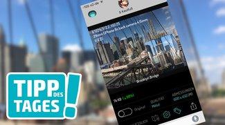 App-Tipp: Fotos für iMessage verkleinern, Datenvolumen sparen