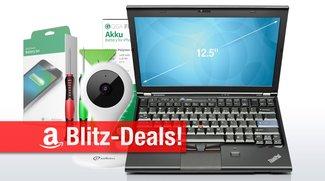 Blitzangebote: ThinkPad X220 Subnotebook, MacBook-Sleeve, IP-Kamera mit Mobile-App, Akku-Set für iPhone u.v.m.