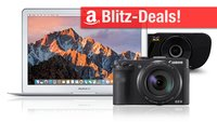 Blitzangebote und CyberSale: MacBook Air zum Bestpreis + 4K-TV-Box, Thunderbolt-Dock, Canon PowerShot G3 X u.v.m.