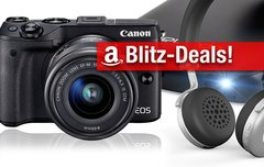 Blitzangebote:<b> Canon EOS M3, Pico-Projektor, Festplatte und BT-Headset aus Aluminium u.v.m. zum Bestpreis</b></b>