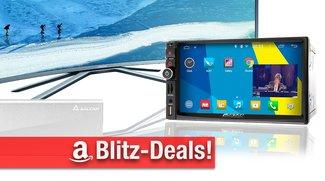 Blitzdeals: Android-Autoradio, Curved-TV, mSATA SSD-Gehäuse, Logitech Ultimate Harmony Hub u.v.m. heute zum Bestpreis