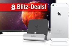Blitzangebote und CyberSale:<b> iPhone SE zum Bestpreis, Belkin mit 50% Rabatt&#x3B; Ultra-HD-Fernseher u.v.m. günstiger</b></b>
