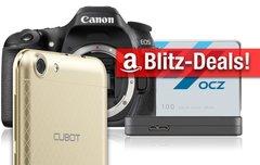 Blitzangebote:<b> Festplattengehäuse, SSD, Cubot-Smartphone, EOS 80D u.v.m. vergünstigt zum Bestpreis</b></b>